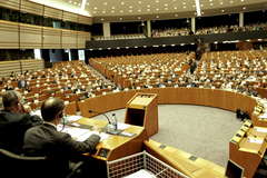 Europees Parlement in Brussel